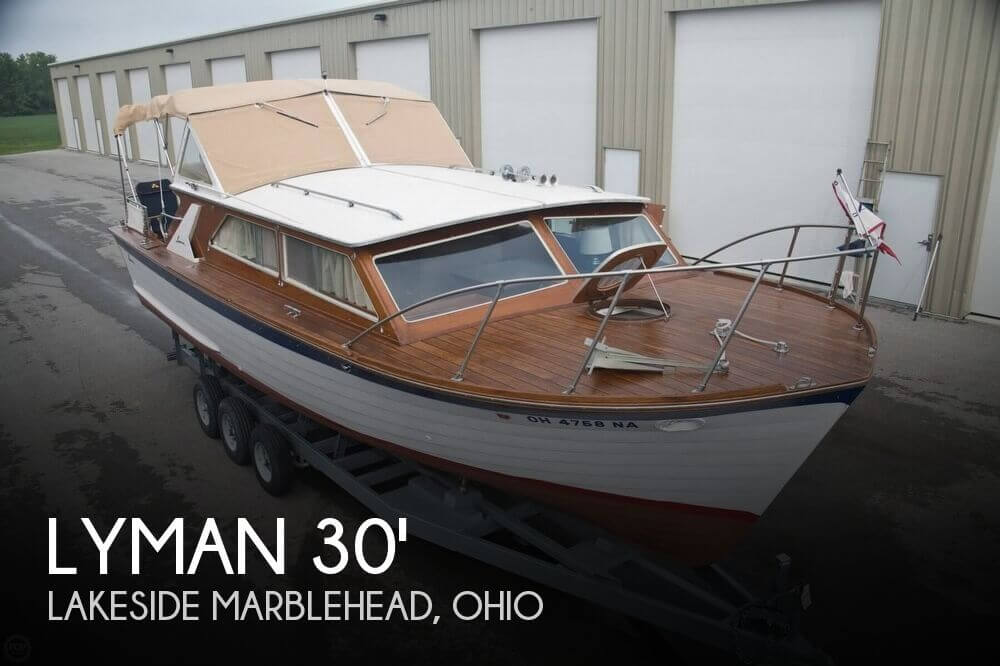 Used Boats For Sale in Cleveland, Ohio by owner | 1969 Lyman 30