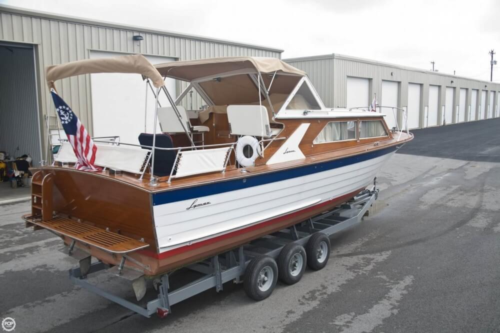 1969 Lyman boat for sale, model of the boat is 30' Express Cruiser & Image # 37 of 40
