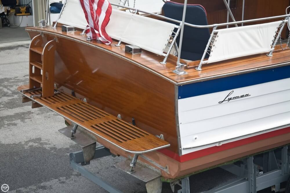 1969 Lyman boat for sale, model of the boat is 30' Express Cruiser & Image # 38 of 40