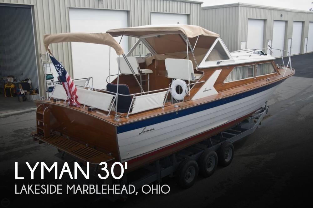 1969 Lyman boat for sale, model of the boat is 30' Express Cruiser & Image # 1 of 40