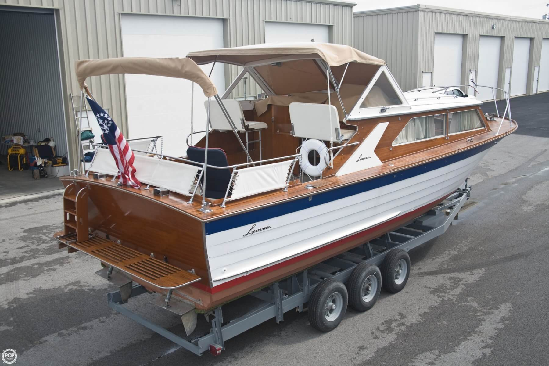 1969 Lyman 30' Express Cruiser For Sale