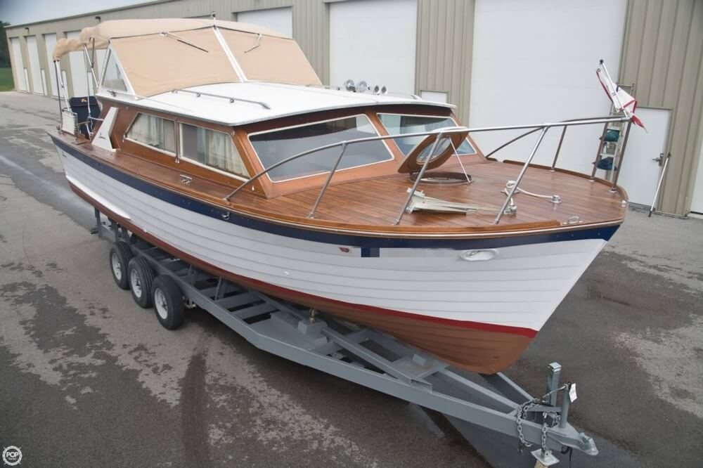 1969 Lyman boat for sale, model of the boat is 30' Express Cruiser & Image # 3 of 40