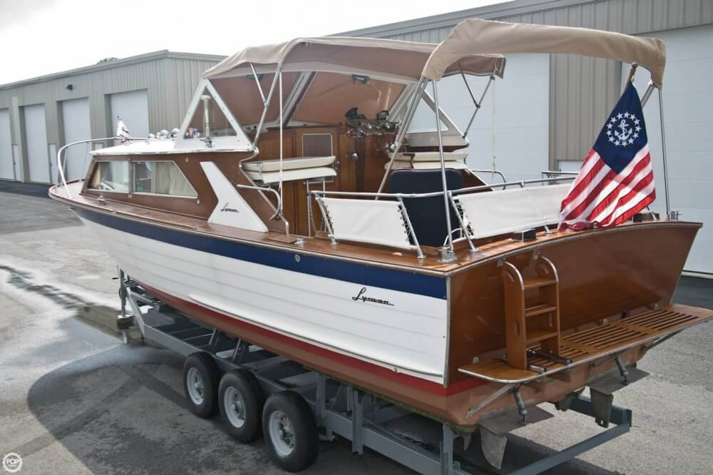 1969 Lyman boat for sale, model of the boat is 30' Express Cruiser & Image # 9 of 40