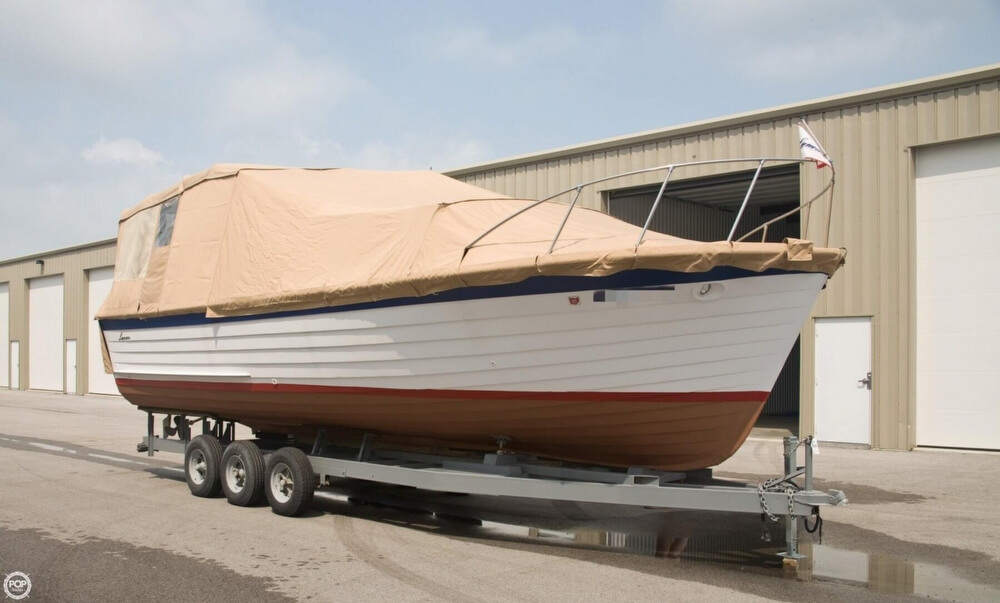 1969 Lyman boat for sale, model of the boat is 30' Express Cruiser & Image # 12 of 40