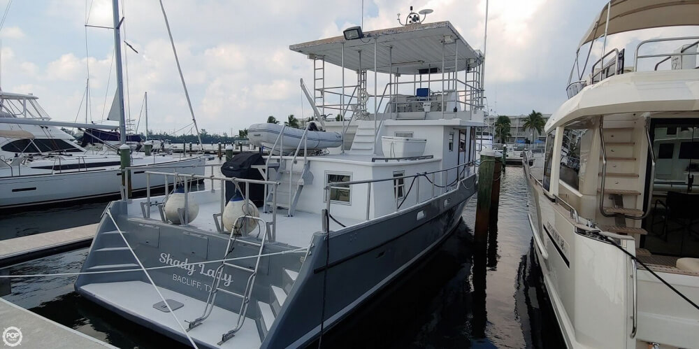 1981 Dave Sintas boat for sale, model of the boat is 50 Trawler & Image # 4 of 40