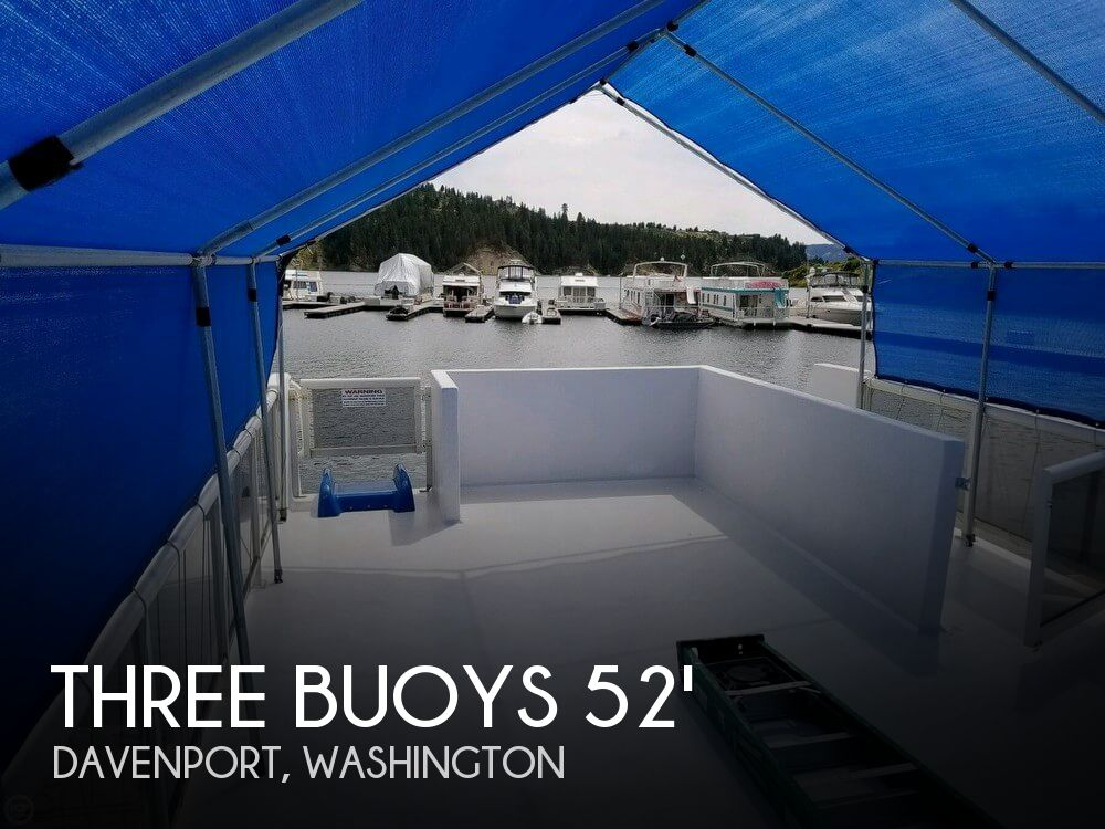 Used Houseboats For Sale in Washington by owner | 1987 Three Buoys 52