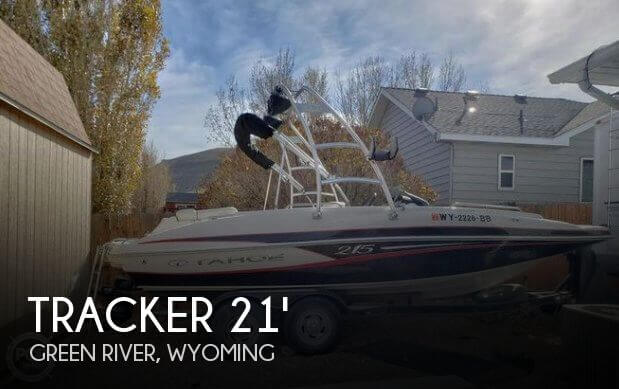 Used Deck Boats For Sale by owner | 2015 Tracker 21