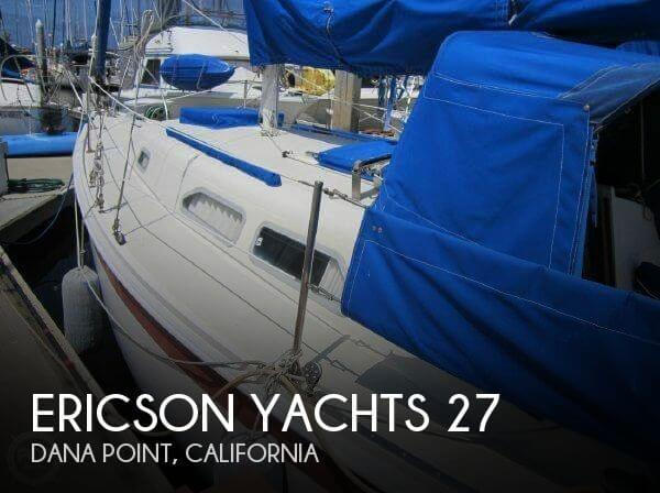Used Ericson Boats For Sale by owner | 1973 Ericson Yachts 27