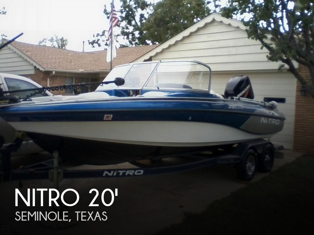 Used Boats For Sale in Midland, Texas by owner | 2010 Nitro 20