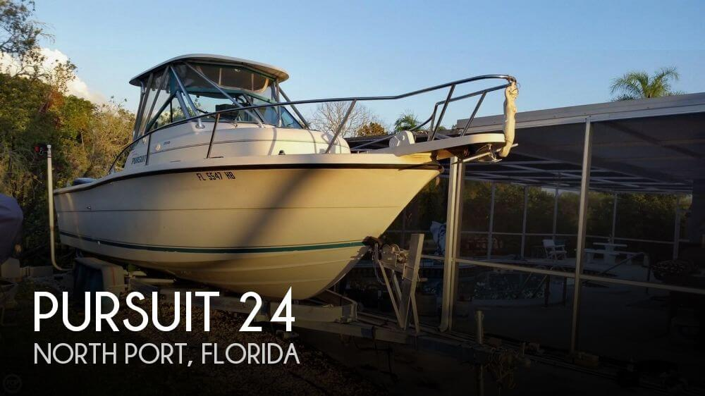 Used Pursuit Boats For Sale by owner | 1994 Pursuit 24