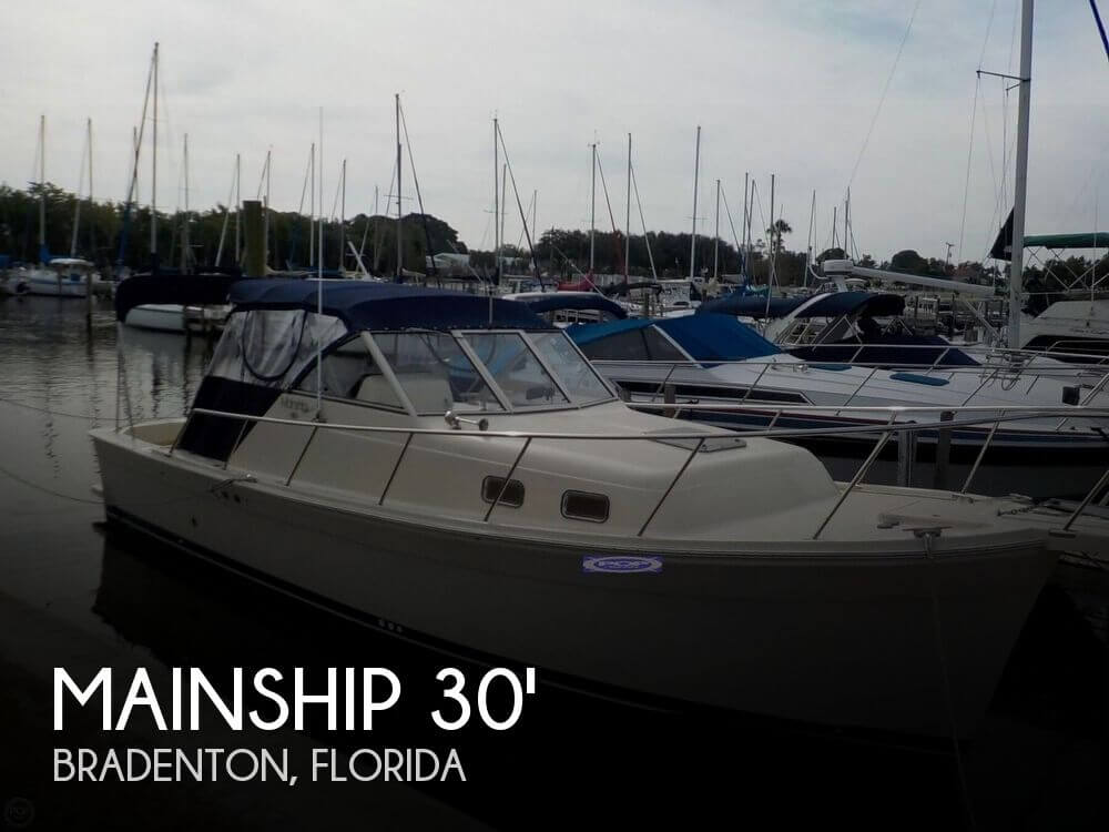 Used Mainship Boats For Sale by owner | 2005 30 foot Mainship Pilot II
