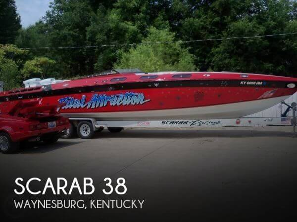 Used Boats For Sale in Lexington, Kentucky by owner | 1981 Scarab 38