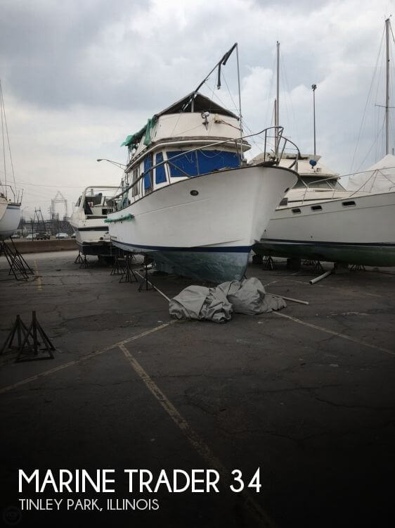 Used Marine Trader Boats For Sale by owner   1981 Marine Trader 34