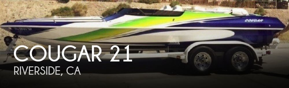 Used Cougar Boats For Sale by owner | 2006 Cougar 21