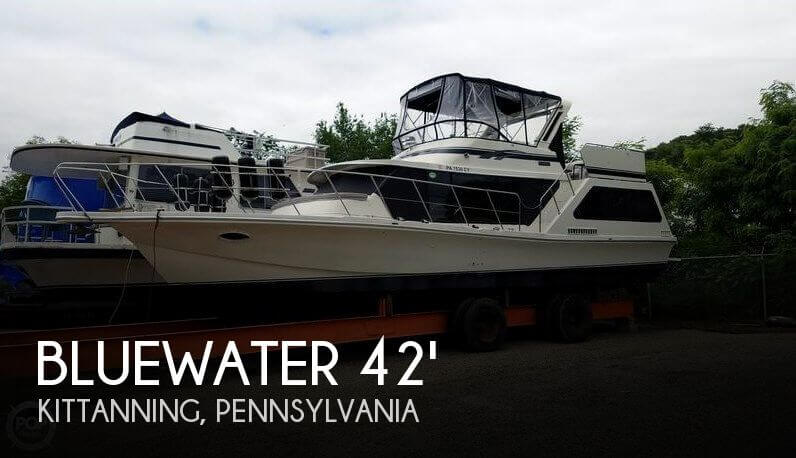 Used Boats For Sale in Youngstown, Ohio by owner | 1986 Bluewater Yachts 42
