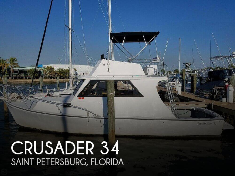 Used Fishing boats For Sale in Florida by owner | 2005 Crusader 34