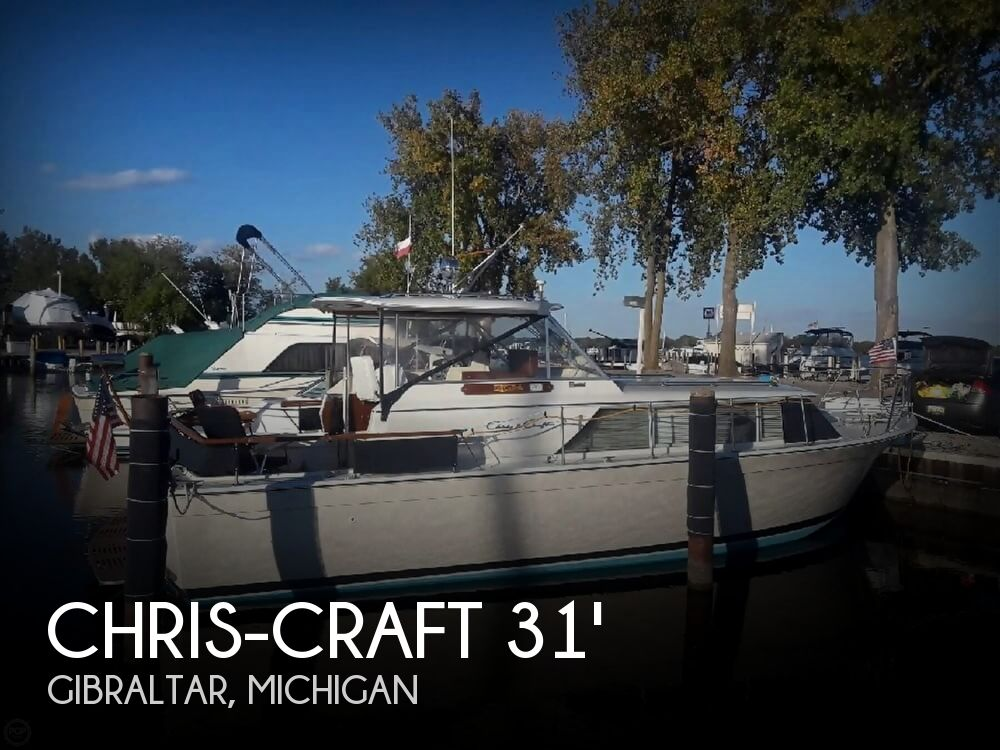 Used Chris Craft Boats For Sale in Michigan by owner | 1966 Chris-Craft 31