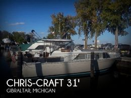 1966 Chris-Craft 31 Commander