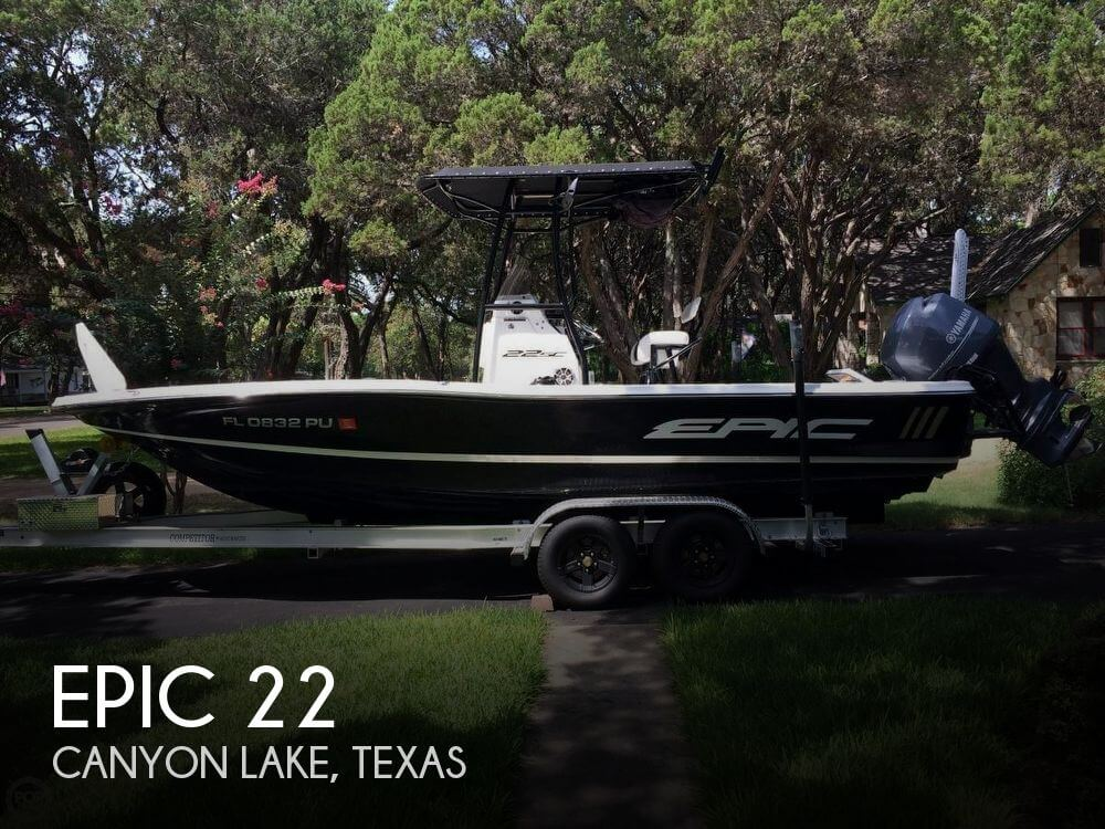 Used Boats For Sale in San Antonio, Texas by owner | 2014 Epic 22