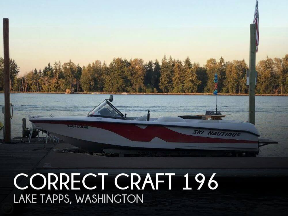 Used Correct craft Boats For Sale in Washington by owner | 2000 Correct Craft 20