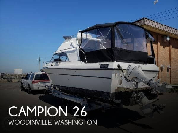 Used Campion  Boats For Sale in Washington by owner | 1978 Campion 26
