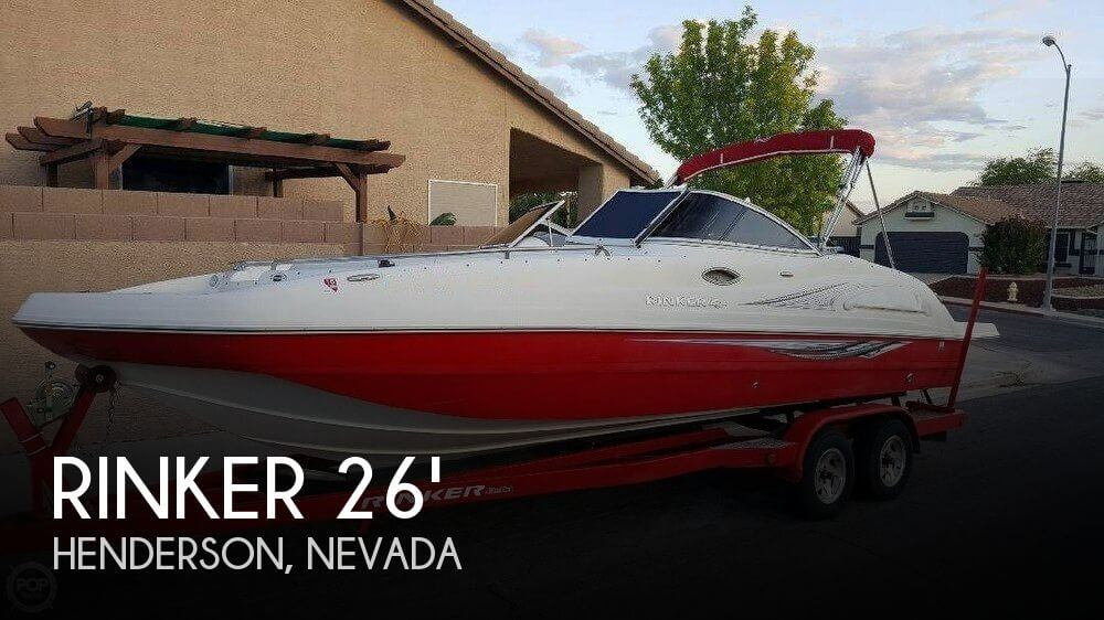 Used Deck Boats For Sale in Nevada by owner | 2007 Rinker 26