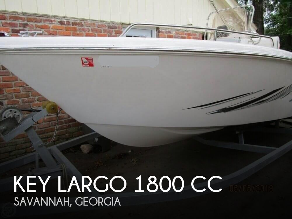 2017 KEY LARGO 1800 CC for sale