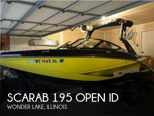 Used Boats For Sale in Rockford, Illinois by owner | 2018 Scarab 195 Open ID