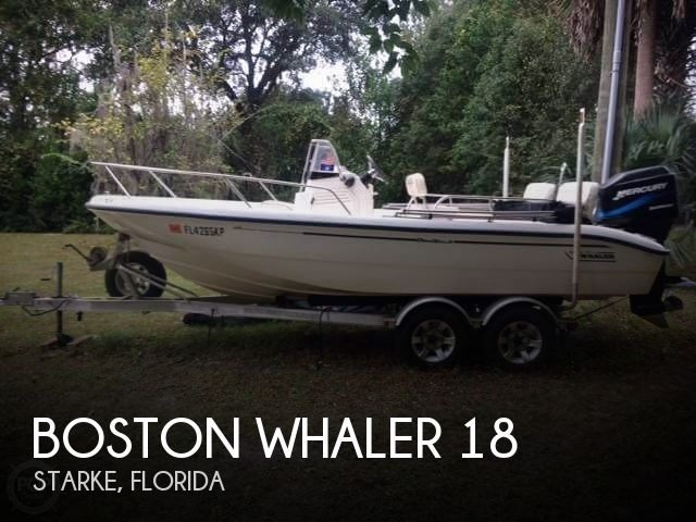 Used Boats For Sale by owner | 1999 Boston Whaler 18