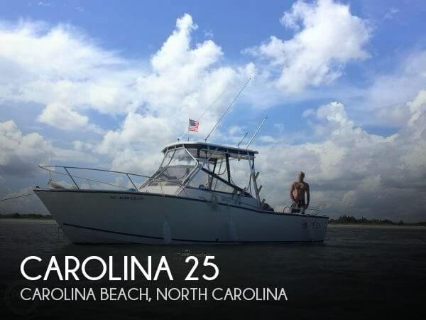 Used Carolina Boats For Sale by owner | 1999 Carolina 25