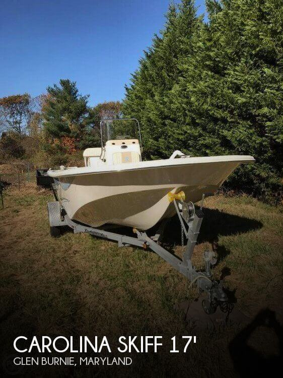Used Ski Boats For Sale in Maryland by owner | 2015 Carolina Skiff DLX 178