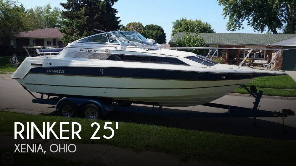 Used Rinker Boats For Sale in Ohio by owner | 1989 Rinker 25