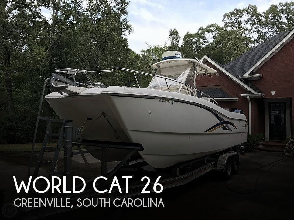 Used Boats For Sale in Greenville, South Carolina by owner | 2001 World Cat 26