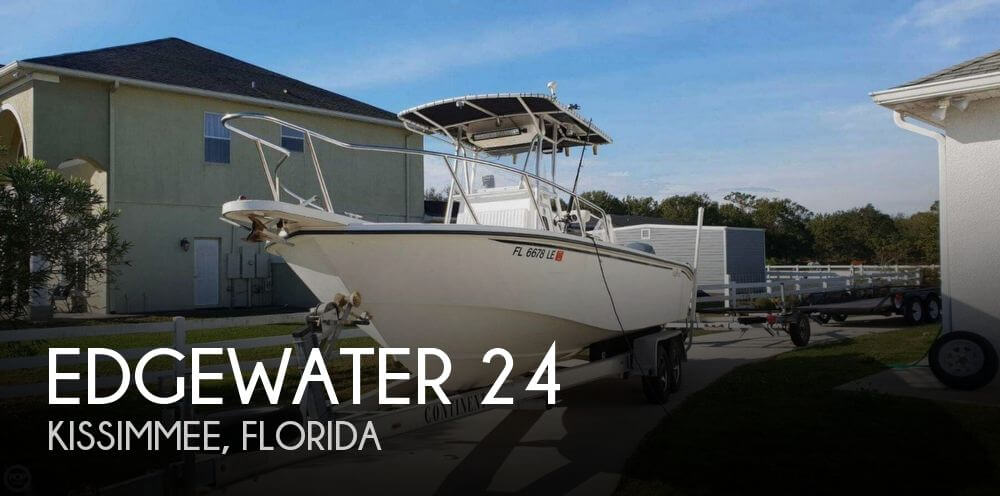 Used Edgewater Boats For Sale by owner | 2000 Edgewater 24