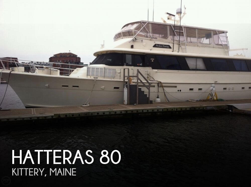 Used Motoryachts For Sale by owner | 1984 Hatteras 80