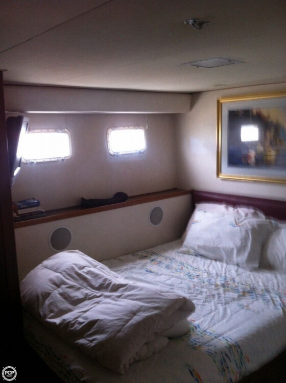 1985 Hatteras boat for sale, model of the boat is 80 CPMY & Image # 8 of 40