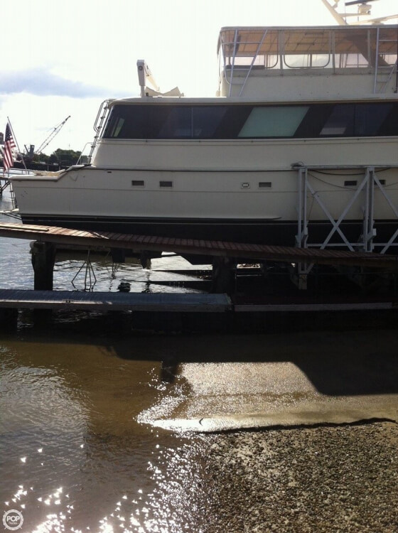 1985 Hatteras boat for sale, model of the boat is 80 CPMY & Image # 11 of 40