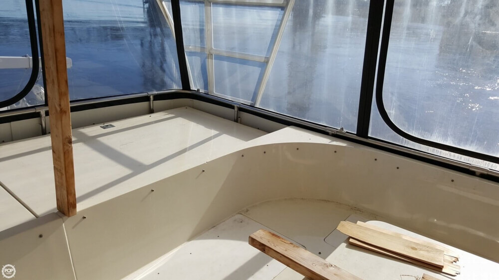 1985 Hatteras boat for sale, model of the boat is 80 CPMY & Image # 36 of 40