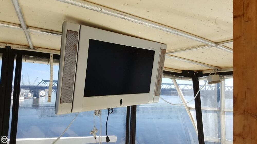 1985 Hatteras boat for sale, model of the boat is 80 CPMY & Image # 37 of 40
