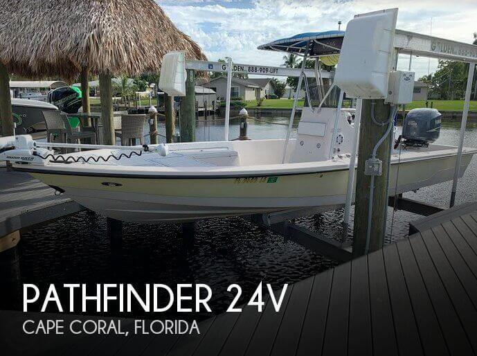 Used Pathfinder Boats For Sale by owner | 2002 Pathfinder 24