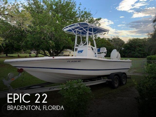 Used Epic Boats For Sale by owner | 2017 Epic 22