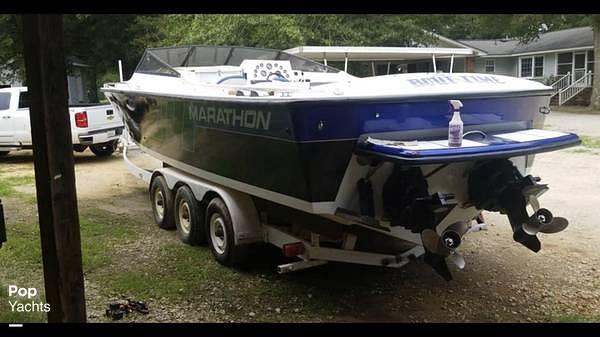 1988 Marathon boat for sale, model of the boat is 3200 Eagle & Image # 5 of 40