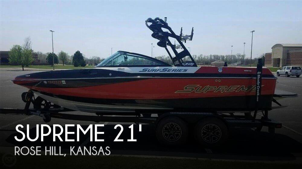 Used Boats For Sale in Wichita, Kansas by owner | 2016 Supreme 21