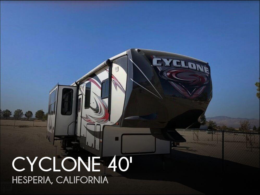 2014 Heartland Cyclone CY 3800