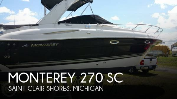 Used Monterey Boats For Sale by owner | 2007 Monterey 26