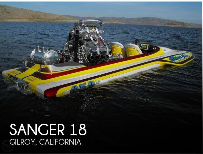 Used Boats For Sale in Salinas, California by owner | 1977 Sanger 18