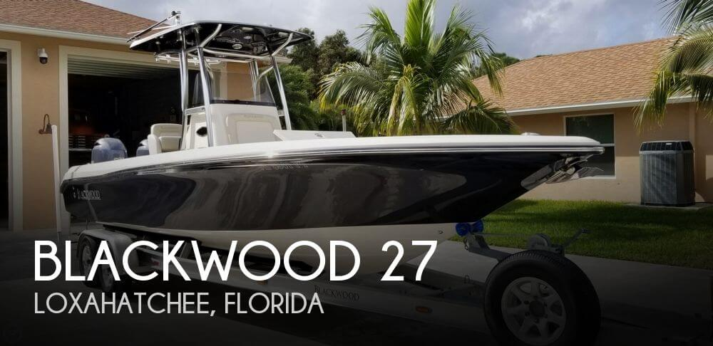 Used Boats For Sale in Port St. Lucie, Florida by owner | 2015 Blackwood 27