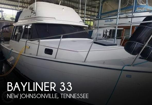 Used Bayliner 33 Boats For Sale by owner | 1983 Bayliner 33