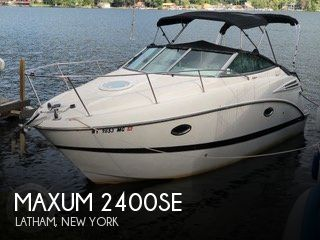Used Boats For Sale in Albany, New York by owner | 2007 Maxum 24