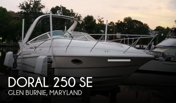 Used Doral Boats For Sale by owner   2001 Doral 250 SE